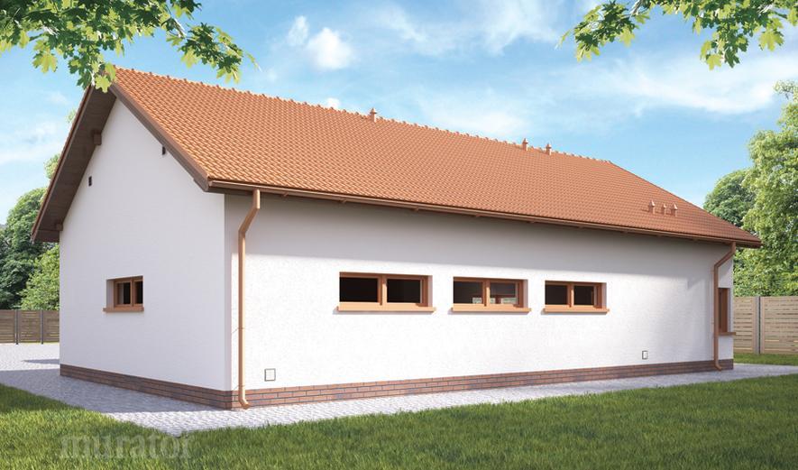 GMC33a Budynek garażowo-magazynowy z pom. pomocniczymi