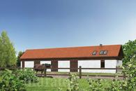 SC10 Stajnia dla 7 koni z częścią mieszkalną i poddaszem gospodarczym