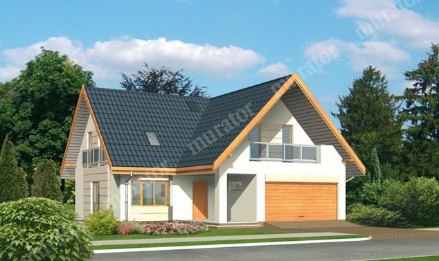 Projekt domu:  Murator M44   – Letni wieczór